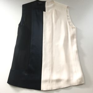 Narciso Rodriguez Two-Tone Blouse
